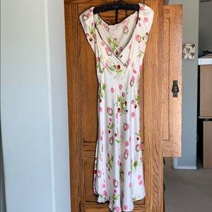 Betsy Johnson RARE VINTAGE Silk Slip Dress